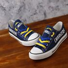 Los Angeles Chargers Canvas Print Shoes NFL $52.0 USD on eBay
