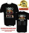 TOTO Band 2019 40 Trips Around the Sun Concert t shirt image