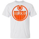 The Edmonton Oilers Logo NHL Season 2020 White T-Shirt M-XXXL $16.95 USD on eBay