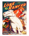 The Lone Ranger Magazine - July 1937 Cover - poster print image