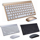 2.4G Waterproof Mini Wireless Keyboard And Mouse Set For Apple Mac PC Computer