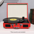 Turntable Vinyl Record Player 3 Speed Record Player w/Stereo USB Memory BT L0X6