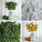 432 Leaves Leather Fern Greenery Branches - 36 bushes for Wedding Decorations