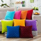 Soft Fur Plush Square Throw Pillow Cases Home Decor Sofa Waist Cushion Cover Us