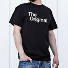Family Outlook Black T Shirt For Men Boy Printing Cotton Casual Top Clothing New