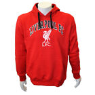 Official Liverpool F.C Crest Men's Red Hoody Hoodie 100% Genuine S/ M/ 2XL