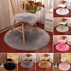 Soft Plush carpet Round Home Wooden floors Display Bedroom Office Warm