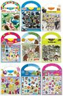 STICKER SCENES Childrens Licensed Character - Carry Pack Fun Birthday Xmas Gifts