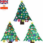 3FT Kids DIY Felt Christmas Tree with Ornaments Xmas Gift Wall Hanging Decor