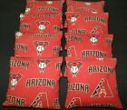 8 CORNHOLE BEANBAGS made w ARIZONA Diamondbacks Fabric ACA Reg Bags, Top Quality on Ebay