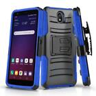 for LG JOURNEY LTE (L322DL), [Refined Series] Phone Case Cover & Holster Clip