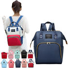 Large Mummy Mom Maternity Nappy Diaper Bag Capacity Baby Travel Backpack Handbag