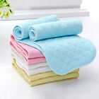 10Pcs Reusable Baby Cloth Diaper Nappy Liners insert 3 Layers Washable USA New