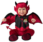 Baby Toddler Boys Red Demon Devil Halloween Fancy Dress Costume Outfit 0-24M