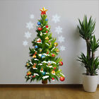 Christmas Tree Stars Removable Wall Stickers Art Decal Home Decoration Sticker