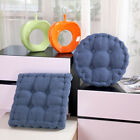 "Chair Cushion Pad 3"" Thick Corduroy Seat Round/Square Patio Car Office Home Mat"