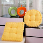 """Chair Cushion Pad 3"""" Thick Corduroy Seat Round/Square Patio Car Office Home Mat"""