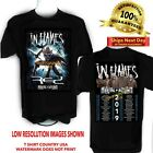 IN FLAMES 2019 Arrival of Autumn Concert T Shirt Sizes S-6X Tall Sizes image