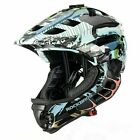 ROCKBROS Child Full Face Helmet Kids Safety Protective Helmet With Tail Light US