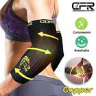 Elbow Support Brace Compression Arm Sleeves Copper Infused Fit Joint Pain Relief