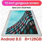 KT107 10.1 Inch 4G Tablet Android 8.0 bluetooth PC 8 128GB Dual SIM with GPS Pop