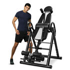 Inversion Table Heavy Duty Fitness Chiropractic Back Stretcher Reflexology Pad image