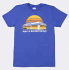 New Authentic Retro Blockbuster Make It A BLOCKBUSTER Night Graphic Mens T-Shirt image