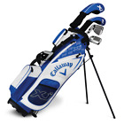 New Callaway Junior XJ Golf Sets With Bag- Blue-Pick Level