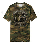 Dawgs of War Mens Printed Army Tee Shirts Reg to Big and Tall Size Solid or Camo