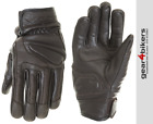 RST Cruz Brown Short Leather Retro Glove Motorcycle Scooter Gloves Sport Urban