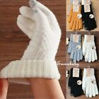 Men Women Gloves Touch Screen Glove Winter Warm Kintted Anti Slip Thermal Gloves
