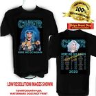 Cher 2020 Here We Go Again Concert t shirt Sizes S to 6X image