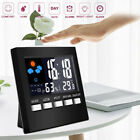 Weather Station Hygrometer Thermometer Desk Alarm Clock F