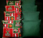 MILWAUKEE BUCKS MENS BASKETBALL CORNHOLE BEAN BAGS 8 ACA Handmade Bags! on eBay