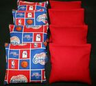 LOS ANGELES CLIPPERS BASKETBALL  8 ACA BEAN BAGS/ BAGGO TOSS  Quality Handmade! on eBay