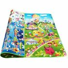 Baby Crawling Mat Educational Alphabet Play Rug For Children Activity Gym Carpet