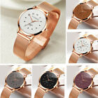 Women Luxury Casual Analog Stainless Steel Band Quartz Wrist Watches Watch Gift image