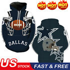 NEW Dallas Cowboys Sport Hoodie Sweatshirt Hooded Jumper Jacket Coat US $20.99 USD on eBay