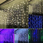 4m Christmas Led String Net Lights Lamp Outdoor Fairy Party Home Curtain Icicle