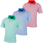 Bobby Jones Mens XH20 Patriot Stripe Oxford Pique Golf Polo Shirt 57% OFF RRP