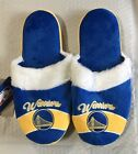 Golden State Warriors Women's Stripe Logo SLIDE SLIPPERS New FREE U.S.A. SHIP on eBay
