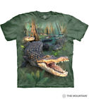 The Mountain Adult Gator Parade Cotton Green T-Shirt Size M-L-XL-2X-3X-4X-5X NWT image