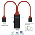 Phone to TV 1080p Universal HDMI HDTV AV Adapter Cable 3ft for Cellphone Tablet