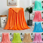 USA Solid Soft Living Room Bedroom Air Conditioning Bed Blanket for Sofa Bedding image