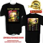 Elton John 2020 Farewell Yellow Brick Road Concert Tour t shirt  Sizes S to 6X image