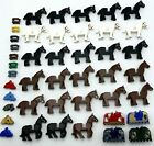 Authentic LEGO Minifigures Animals Horse - Castle, Western, Skeleton - You Pick!