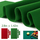 9x4.7ft Worsted Billiard Pool Snooker Table Cloth Felt Cover + 6Pcs Felt Strip £22.23 GBP on eBay
