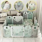 Внешний вид - Baby Safety Fence Playpen Fencing Indoor  For Children Kids Protection Play Yard