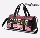 NWT Justice Girl Cheer Flip Sequin Duffle Bag Tote Bag Pink Gold Christmas Gift