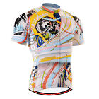FIXGEAR mens cycling jersey shortsleeve CYCLE top